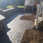 Interlocking Stone Walkway