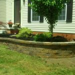 Landscaped Garden with Brick Surround